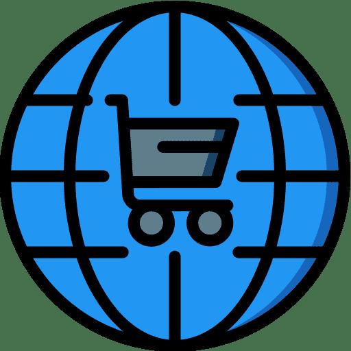 Ein neuer Onlineshop Symbol